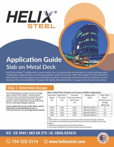 Helix-Steel-Application-Guide-Slabs-on-Metal-Deck