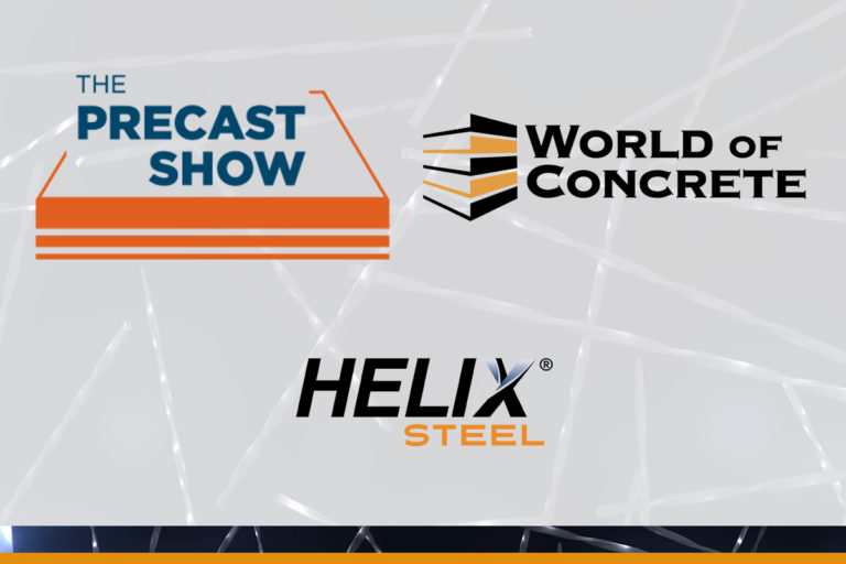 Join Us at The Precast Show & World of Concrete 2021! - Helix Steel - Featured Image